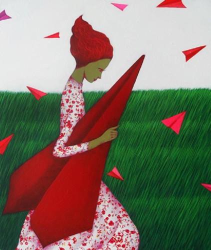As asas encurtam  silêncios e os amores distantes …