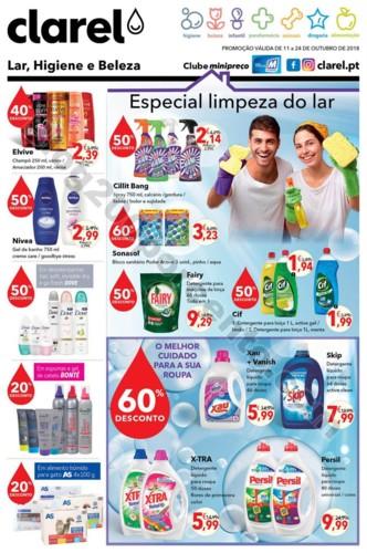 Antevisão Folheto CLAREL promoções de 11 a 24 o