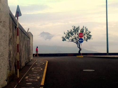 A montanha, a avenida, a pessoa...