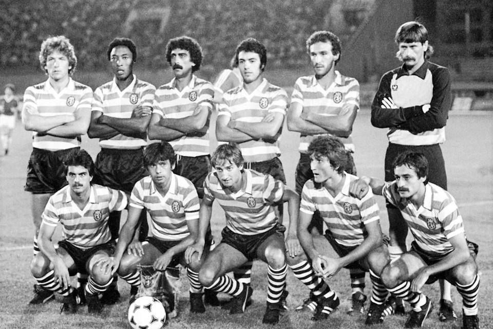 SCP 1981-82 jogo com Red Boys foto Alfredo Cunha.j