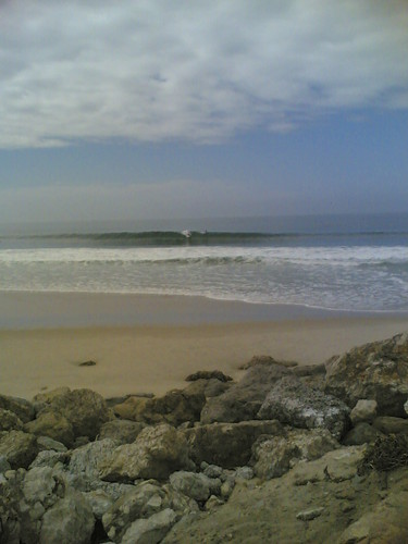 Lusiaves Figueira Pro 2010: Surfistas na onda