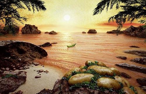 Amazing food landscapes