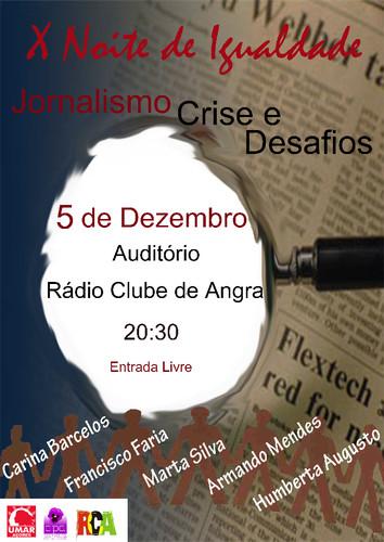 Esta quarta-feira, no auditório do Rádio Clube de Angra...