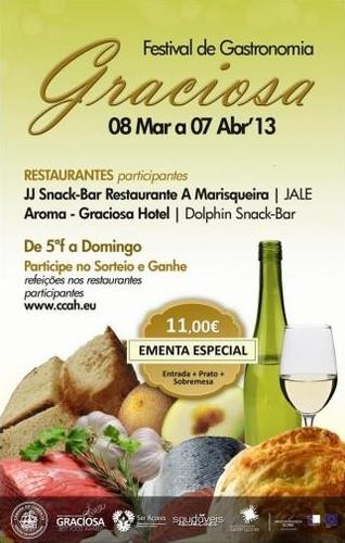 """4ª Edição do Festival de Gastronomia """"Sabores da Inovação - Graciosa Best Food Awards"""""""