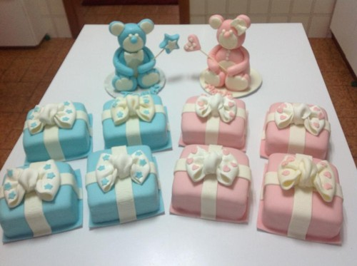 Atelier Cake Design Lausanne : Batizado - Real Doce Atelier- Cake Design
