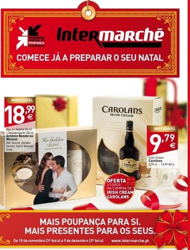 Antevisão novo Folheto | INTERMARCHÉ | Presentes de Natal, de 19 novembro a 9 dezembro