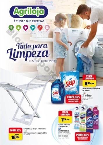 Antevisão Folheto AGRILOJA Limpeza promoções de