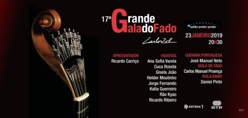 17ª Grande Gala do Fado - Carlos Zel - 23 de Jane