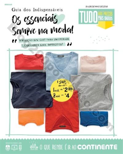 Antevisão Folheto CONTINENTE Moda Low Cost promo