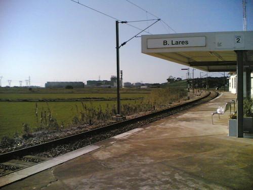 Estação de comboio Bifurcação de Lares: Gare