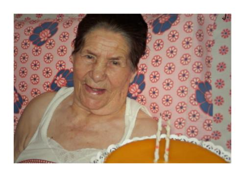 Avó 86 anos num momento de lucidez by PP