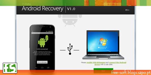 Recuperar fotos imagens videos documetos música num Android