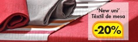 20% de desconto lojas | CASA | Têxtil de mesa