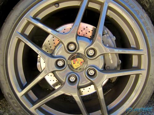 Porsche Boxster Convertible - Tire / Pneu