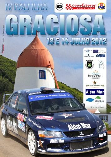 O cartaz do evento...