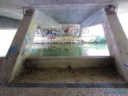 Jardim do Polis Leiria (Centro) - Passagem por baixo da ponte (3) [en] Polis Garden of Leiria, Portugal