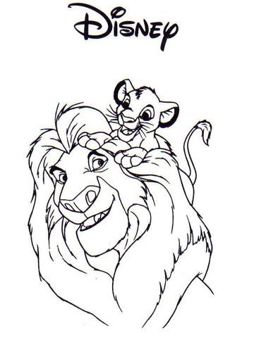 Mini Atividades Disney Rei Le 227 O