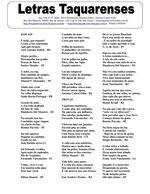 LETRAS TAQUARENSES Nº 57 JULHO 2014 * Antonio Cabral Filho - RJ/Brasil