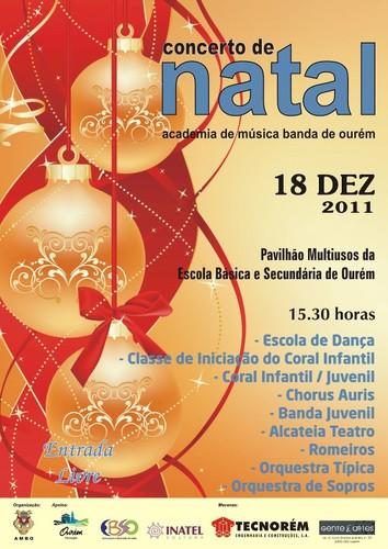 Concerto de Natal da Academia - 2011