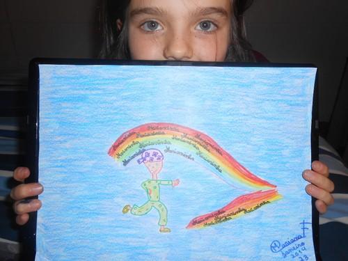 O arco-íris da Marianinha