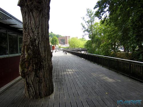 Jardim do Polis Leiria (Este) - Plataforma com árvore [en] Polis Garden of Leiria, Portugal
