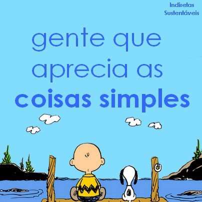 coisas simples