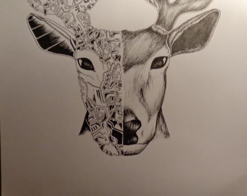 veado deer ines art works