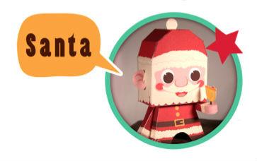 Brincar ao Pai Natal