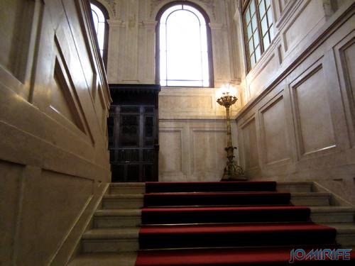 Lisboa - Palácio Nacional da Ajuda - Escadaria nobre [en] Lisbon - Ajuda National Palace - Noble Steps