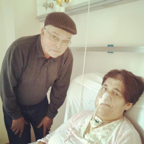 Na luta contra o cancro, sinais já visíveis do do pai by PP