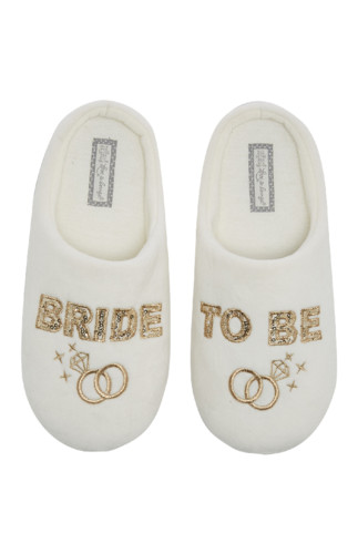 Kimball-2262603-D7--Bride-To-Be-Slipper-White,UK-F