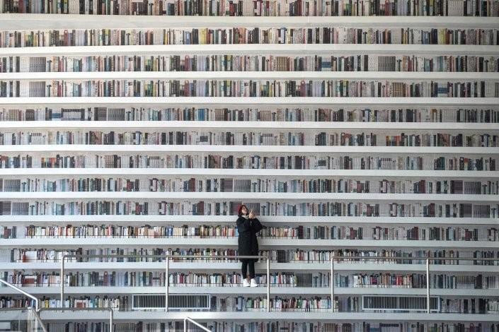 Biblioteca de Tianjin Binhai_Fred Dufour  AFP  Get