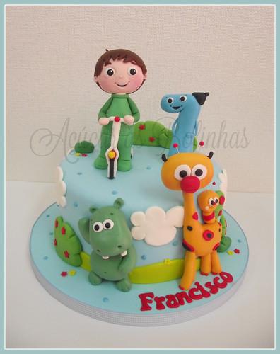 Cake Design Baby Tv : Bolo Baby Tv - Ac?car as Bolinhas - Cake Design, Workshops ...