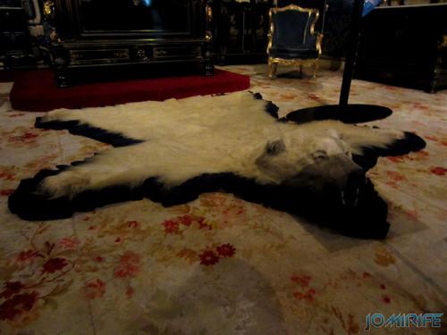 Lisboa - Palácio Nacional da Ajuda - Quarto da cama da rainha (2) Tapete de urso [en] Lisbon - Ajuda National Palace - Queen bed room - Bear Rug
