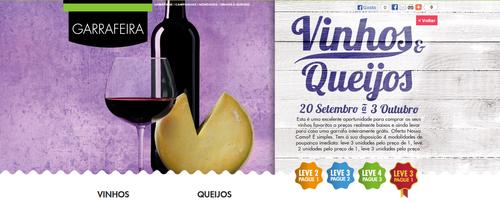 Folheto vinhos e queijo no Pingo Doce de 20 Setembro a 3 Outubro