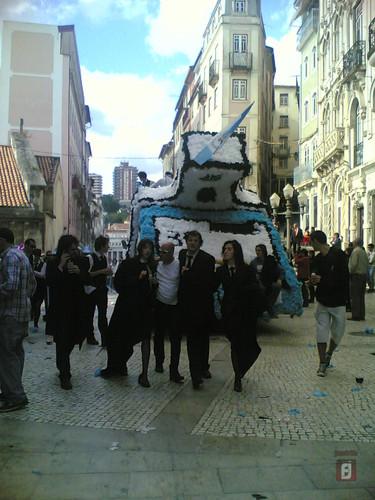 Queima das Fitas Coimbra 2010 - Carro de Eng. Civi