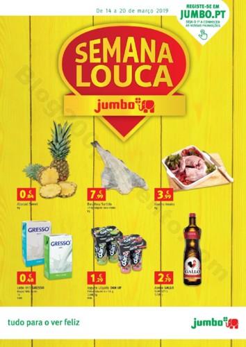 Antevisão Folheto JUMBO Semana Louca Promoções
