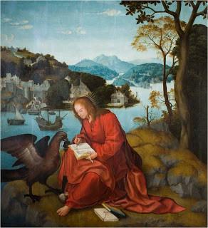 S. João Evangelista na Ilha de Patmos, Mestre da