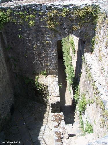 Castelo de Bragança: Acesso ao túnel