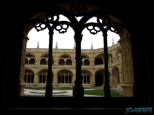 Lisboa - Mosteiro dos Jerónimos (11) Janela [en] Lisbon - Jeronimos Monastery - Window