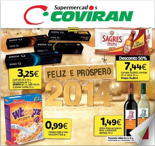 Antevisão folheto | COVIRAN | de 2 a 12 janeiro