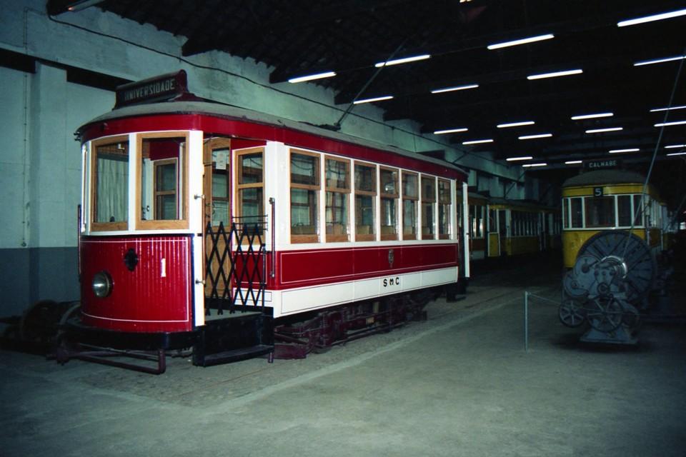 Museu dos Transportes Urbanos de Coimbra, vista ge