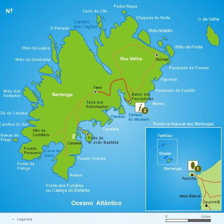 Berlengas_mapa