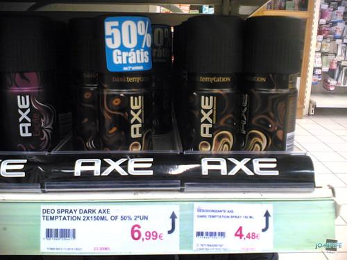 Marketing um bocado aldrabado, não é 50% grátis