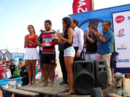 Figueira da Foz Beach Rugby 2013 - Taça - Vencedor Masculino / Cup - Winner Male