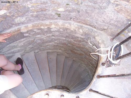 Sintra: Quinta da Regaleira - Torre, escadas