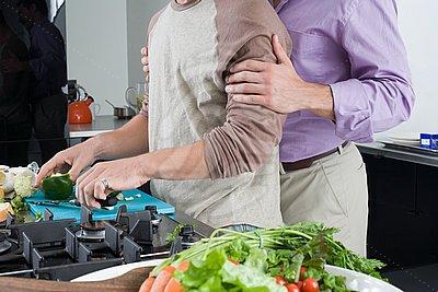 Homens na cozinha