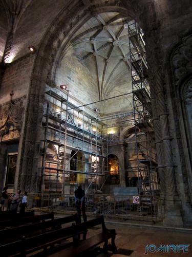 Lisboa - Igreja Mosteiro dos Jerónimos (8) Em obras [en] Lisbon - Jeronimos Monastery Church - In works