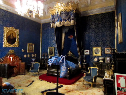 Lisboa - Palácio Nacional da Ajuda - Quarto da cama da rainha (1) [en] Lisbon - Ajuda National Palace - Queen bed room