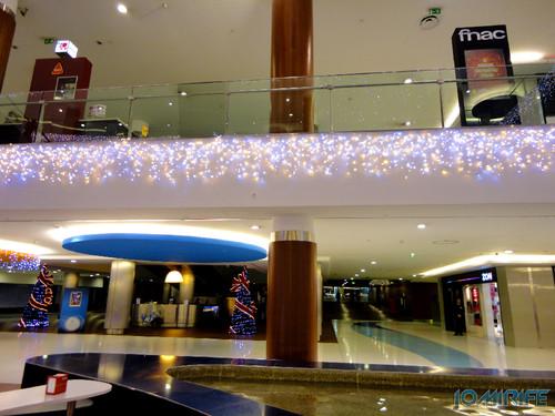 Viseu (42) Palácio do Gelo - Iluminação de Natal nos andares [en] Viseu - Ice Palace - Christmas Lighting